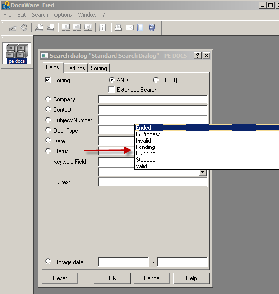DocuWare Windows Client